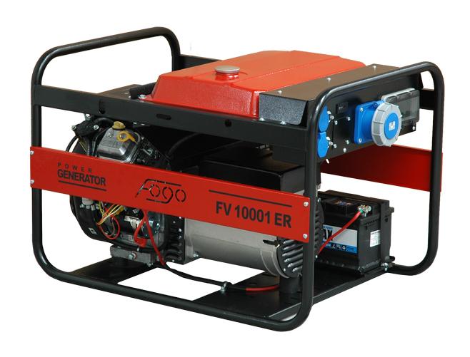 Agregat prądotwórczy FOGO FV 10001 ER - 10 kW 1-fazowy