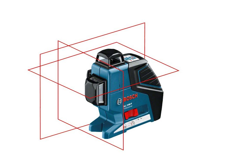 Laser płaszczyznowy Bosch GLL 3-80 P