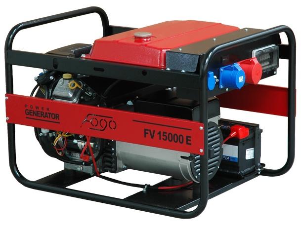 Agregat prądotwórczy FOGO FV 15000 E - 11,6 kW